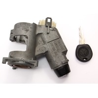 Ignition Housing Collar & Key 93-99 VW Jetta MK3 MT - Genuine - 357 905 851