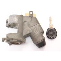 Ignition Housing Collar & Key 93-99 VW Jetta MK3 MT Genuine 357 905 851