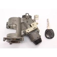 Ignition Housing Collar & Key 89-99 VW Jetta MK2 MK3 AT Genuine - 357 905 851 A