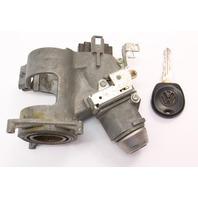 Ignition Housing Collar & Key 89-99 VW Jetta MK2 MK3 AT Genuine ~ 357 905 851 A