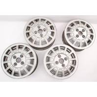 "13"" Alloy Aluminum Wheel Rim Set 75-81 VW Scirocco Rabbit MK1 - 321 601 025 B"