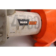 Warn Works 4700 Winch 12V - Sold As-is for Parts or Repair
