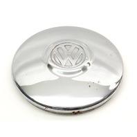 "10"" Chrome Hub Center Cap Hubcap 66-67 VW Beetle Bug Aircooled - Genuine"