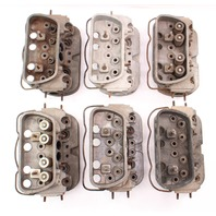 Lot of 6 Cylinder Head Cores 71-79 VW Beetle Bug Aircooled Dual Port - Genuine