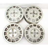 "13"" Alloy Aluminum Wheel Rim Set 75-81 VW Scirocco Rabbit MK1 - 321 601 025 C"