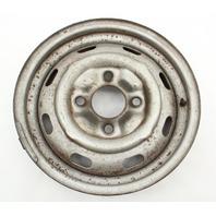 """15"""" x 4.5 Steel Wheel Rim 68-79 VW Beetle Ghia Type 3 411 Aircooled ET34 Genuine"""