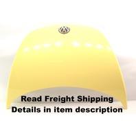 Hood Bonnet 00-05 VW New Beetle - LD1B Yellow - Genuine OE Volkswagen