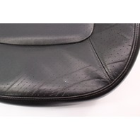 Front Seat Cushion & Foam 98-05 VW Beetle Black Leather Cover Heated ~ Genuine
