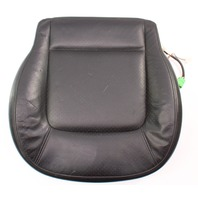 Front Seat Cushion & Foam 98-05 VW Beetle Black Leather Cover Heated . Genuine