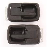 Black Interior Door Pull Handles VW Jetta Rabbit Pickup MK1 Vanagon 171 837 235