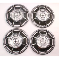 66-69 Chevrolet Corvair Monza Hubcap Hub Cap Set - Genuine