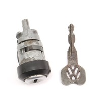 Ignition Cylinder & Key 75-88 VW Rabbit Jetta Golf GTI MK1 MK2 - 411 905 855 C