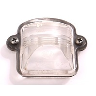 Hassia License Plate Light 64-79 VW Beetle Bug Ghia Notch Fastback 311 943 121 A