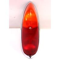 Tail Light Lamp Lens & Housing 65-69 VW Type 3 Euro Amber Top - Genuine Hella