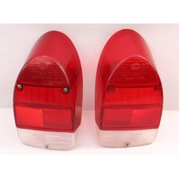 RH Tail Light Lamp Lens Set 71-72 VW Beetle Bug Aircooled - Genuine Hella