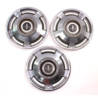 1965 Chevrolet Corvair Monza Hubcap Hub Cap Set Of Three - Genuine