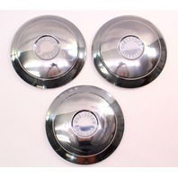 1961 Chevrolet Corvair Monza Dish Hubcap Hub Cap Set of Three