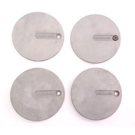 Tear Drop Wheel Center Hub Cap Set 85-92 VW Jetta Golf GTI MK2 - 321 601 149 A -