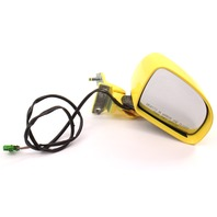 RH Side View Door Mirror & Upper Hinge 98-00 VW Beetle LD1B Yellow ~ Genuine