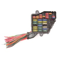 Dash Fuse Box Panel & Wiring Harness Pigtail 02-05 Audi A4 S4 B6 - Genuine