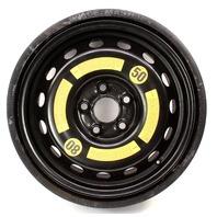 Space Saver Spare Compact Tire Wheel 04-10 VW Touareg - Genuine - 7L0 601 027 A