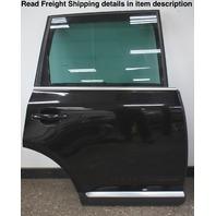 RH Rear Complete Door Assembly 04-10 VW Touareg L041 Black