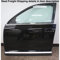 LH Front Complete Door Assembly 04-10 VW Touareg - L041 Black