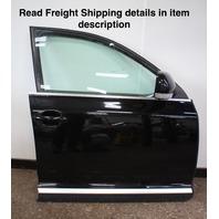 RH Front Complete Door Assembly 04-10 VW Touareg - L041 Black