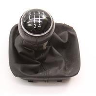 5 Speed Shifter Shift Knob Boot Trim 05-10 VW Jetta Rabbit MK5 - Genuine