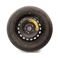 """Spare Tire 15"""" Steel Wheel 05-14 VW Rabbit Golf Jetta Mk5 MK6 1K0 601 027 H"""