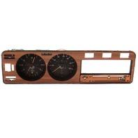 Early Dash Gauge Cluster Speedometer Wood Trim Panel 75-80 VW Rabbit MK1 Diesel