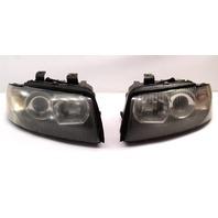 Xenon Head Light Lamp Set 02-05 Audi A4 S4 B6 - Genuine - 8E0 941 003 004 N