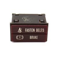 Fasten Seat Belt / Brake Dash Light 85-93 VW Cabriolet Rabbit ~ 113 919 232