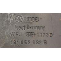 RH Rear Body Trim Molding Flare 88-92 VW Golf Jetta Coupe MK2 ~ 191 853 932 B