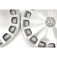 "Genuine 13"" VW Metal Hub Cap Wheel Set VW Jetta Golf Rabbit Pickup Mk1 MK2 Fox -"