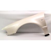 LH Fender 00-03 Audi A8 S8 D2 - L0B9 Magnolia Pearl - Genuine - 4D0 821 111 A
