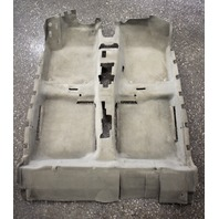 Interior Floor Carpet 98-10 VW Beetle Cream Beige - Genuine - 1C1 863 367