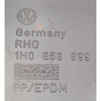 LH Rear Stock Side Skirt Rocker Trim 93-99 VW Jetta GLX GTI MK3 ~ 1H0 853 899