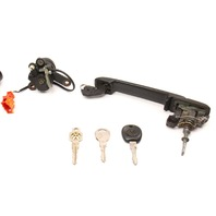Ignition Door Handle Lock & Key Set 93-99 VW Golf GTI MK3 Genuine ~ 357 905 851