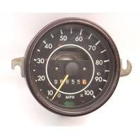 72-74 VW Super Beetle Bug Speedometer Gauge Cluster Aircooled ~ 113 957 023 M ~