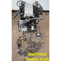 OBD2 2.0 ABA Engine Motor Swap VW Jetta Golf GTI Cabrio MK1 MK2 MK3 ECU / Wiring