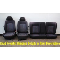 Front & Rear Party Sport Seat Set 93-99 VW Jetta Golf GTI MK3 - Genuine