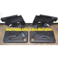 Front & Rear Door Panel Set 93-99 VW Golf GTI MK3 2 Door - Genuine