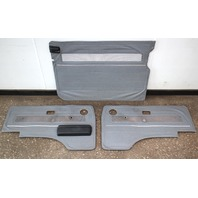 Grey Door Panel Card Set 86-91 VW Vanagon T3 Syncro Westfalia - Genuine