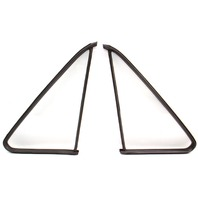 Quarter Window Glass & Seals Non Vented 75-84 VW Rabbit Pickup Jetta MK1.