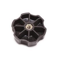 RH Fuse Kick Panel Cover Knob Nut 97-03 Audi A8 S8 D2 Black - 441 863 526