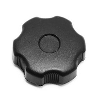 RH Fuse Kick Panel Cover Knob Nut 97-03 Audi A8 S8 D2 Black - 441 863 526