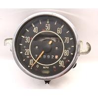 71-72 VW Beetle Bug Speedometer Gauge Cluster Vintage Aircooled / 113 957 023 E