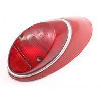 LH Tail Light Lamp Lens / Housing 62-66 VW Beetle Bug Aircooled Genuine . Hella