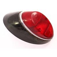 LH Tail Light Lamp Lens / Housing 62-66 VW Beetle Bug Aircooled / Genuine Hella